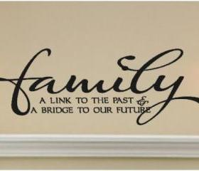 Family Vinyl Wall Art
